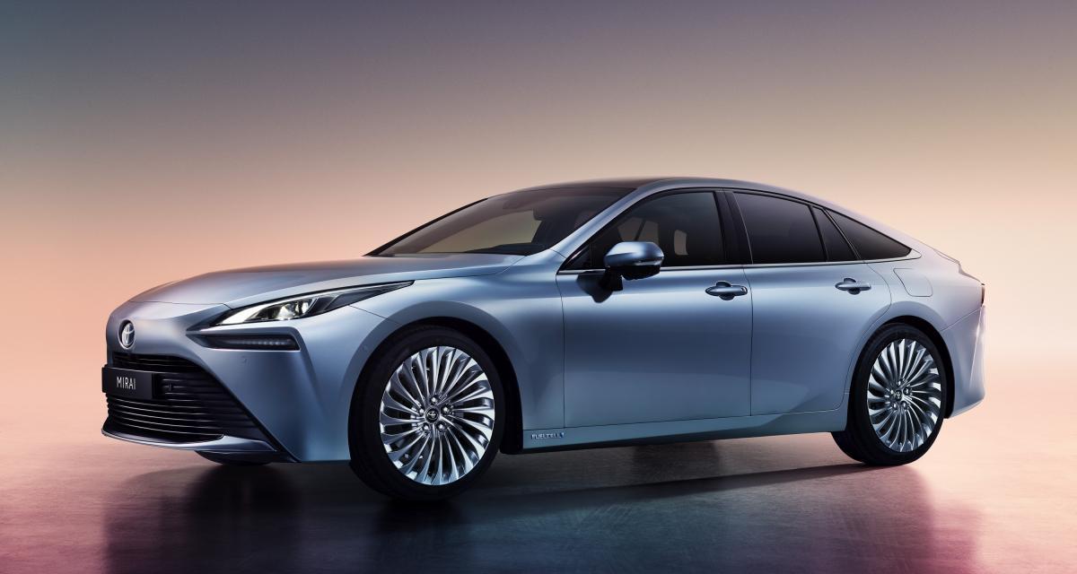 Toyota Mirai : une seconde génération qui a du style
