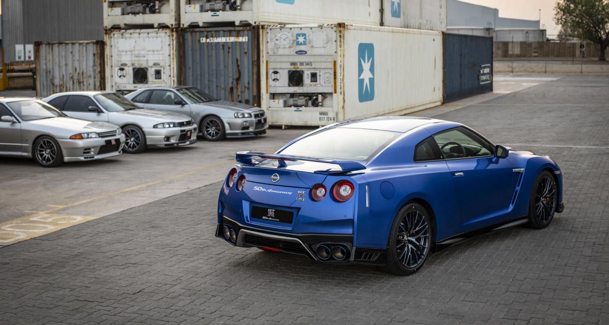 Nissan GT-R 50e Anniversaire : Godzilla en série ultra-limitée