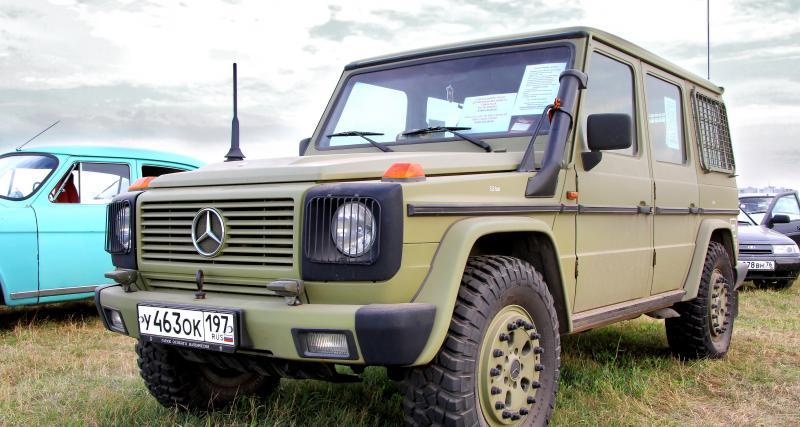 Soldes 2020 : un stock de Mercedes Classe G de l'armée à vendre