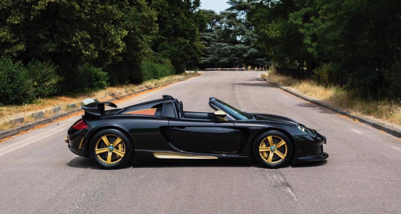 Samuel Eto'o : sa Porsche Carrera GT préparée par Gemballa à vendre aux enchères