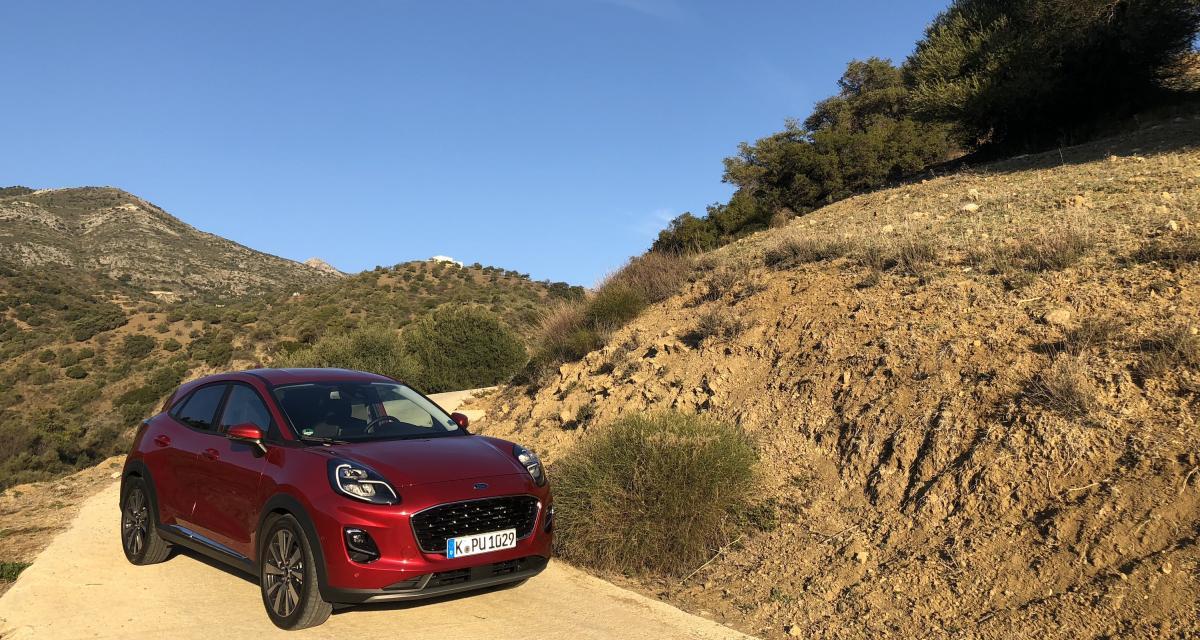 Essai Ford Puma : nos photos du crossover à Malaga