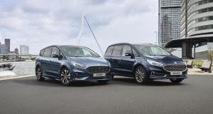 Ford S-Max et Galaxy : hybrides en 2021