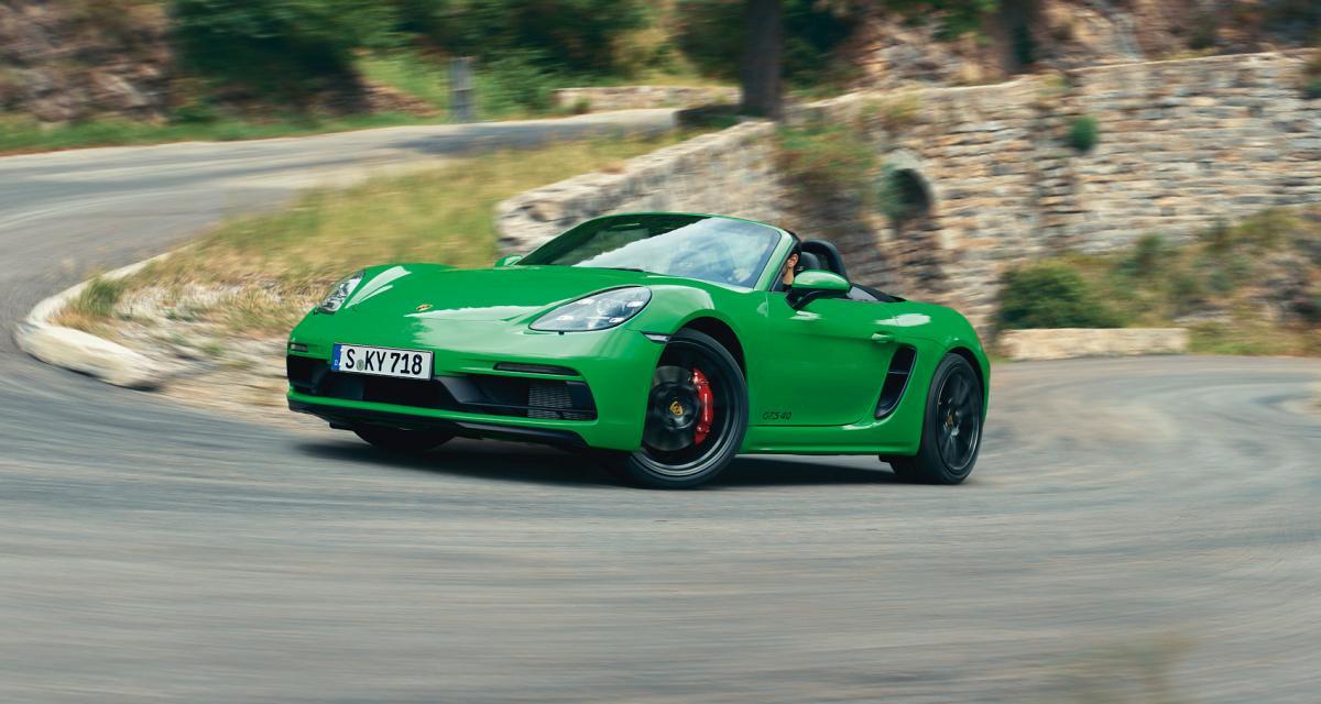 Porsche 718 Cayman et Boxster : les versions GTS 4.0 en trois points