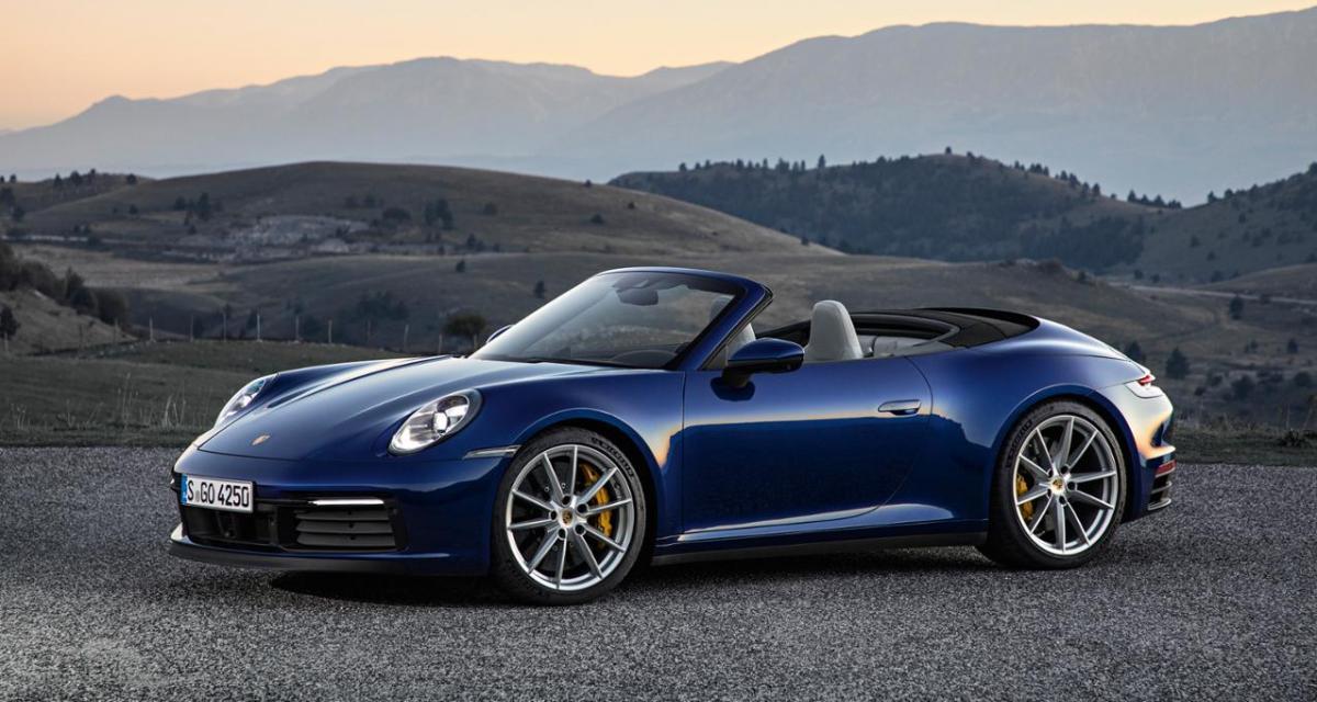 Un couple de Belges détruit une Porsche 911 cabriolet de location