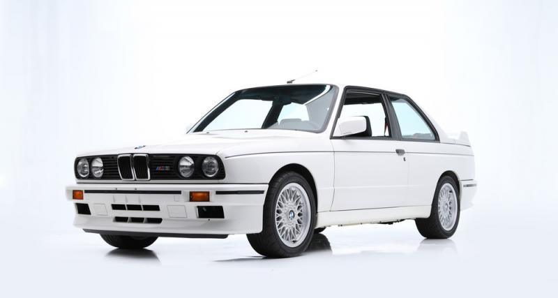 La BMW M3 E30