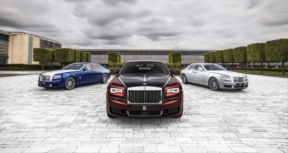 Rolls-Royce : les 11 modèles les plus exclusifs fabriqués en 2019