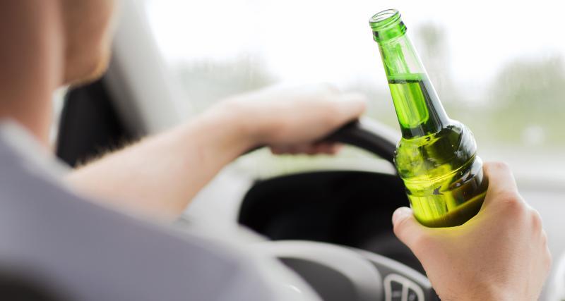 Il est contrôlé avec 2,54 g d'alcool au volant d'une voiture sans permis