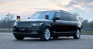 Range Rover Stretched by Klassen : une limousine blindée à 750.000 €