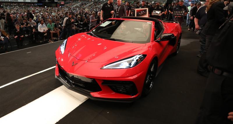 La Corvette C8 Stingray neuve qui valait 3 millions