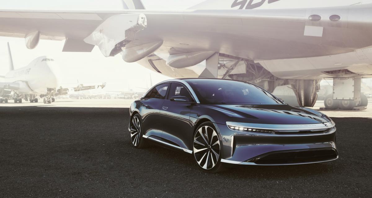 Lucid Air : la concurrente de la Tesla Model S déjà en précommande en France