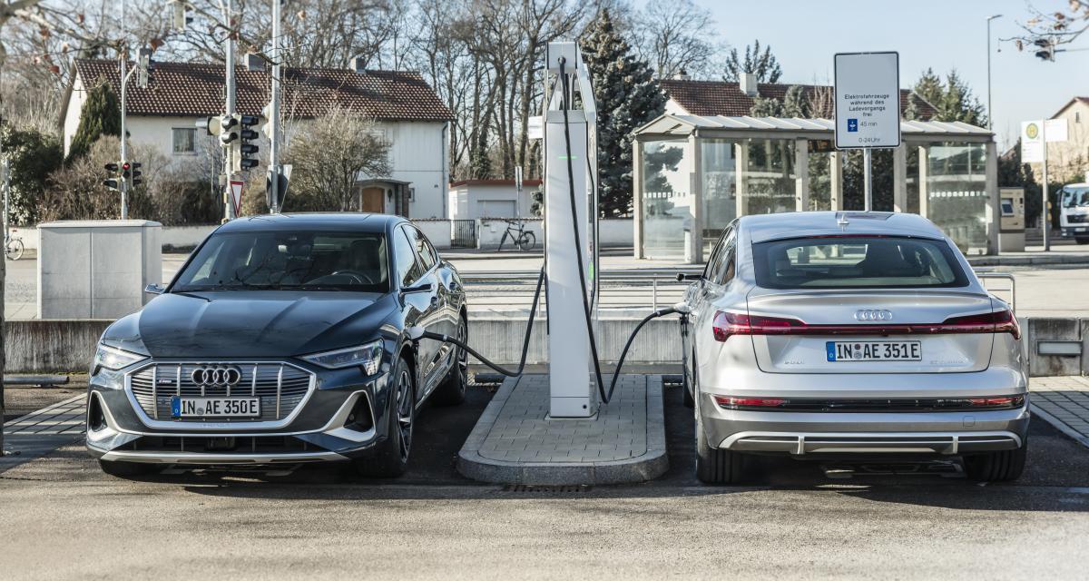 Audi : 100 millions d'euros pour recharger ses véhicules électriques