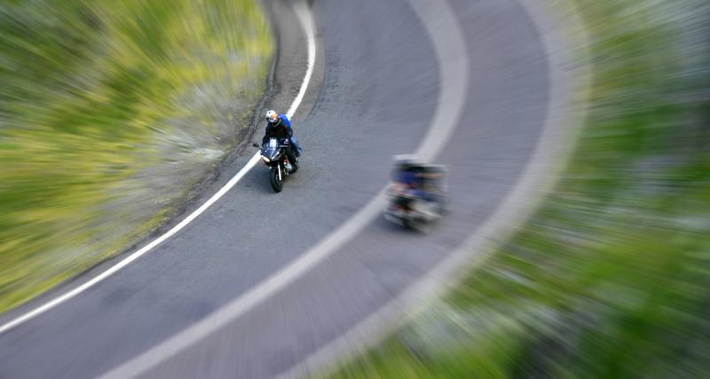 À 22 ans il est flashé à 205 km/h sur une route limitée à 80