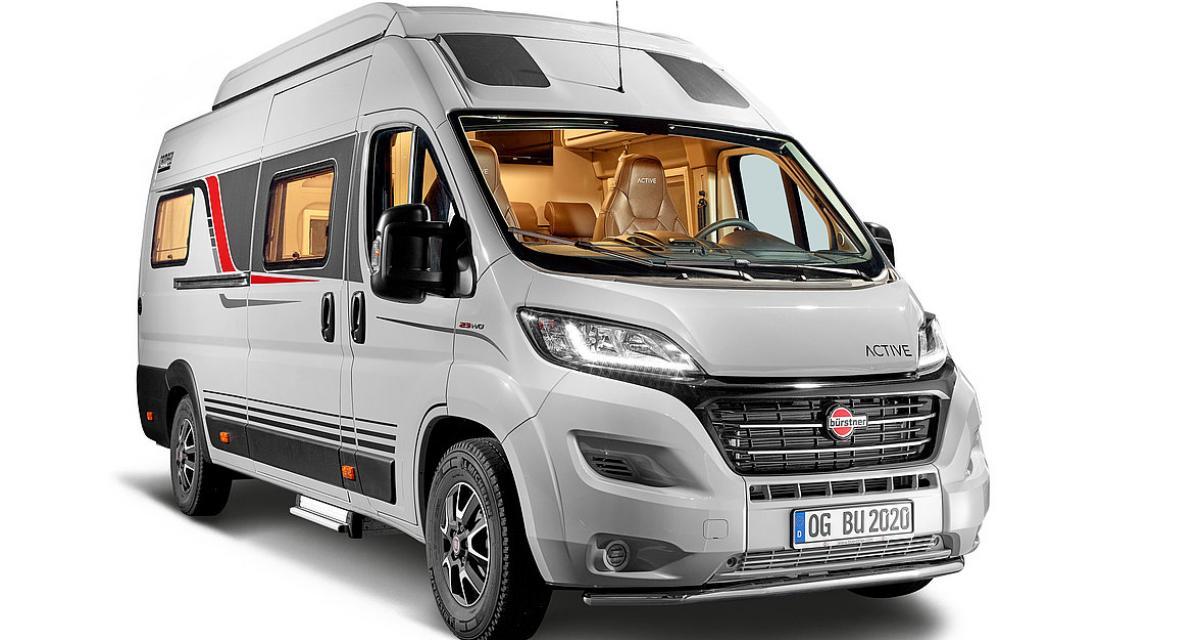 Camping-car Bürstner Campeo C600 : jusqu'à cinq couchages pour le van aménagé