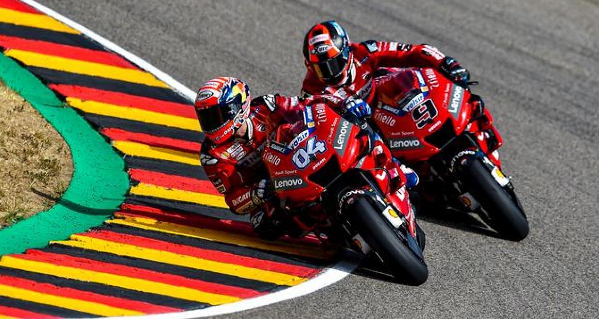 Moto GP : Dovizioso veut prendre la place de Marquez