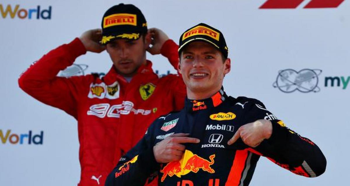 F1 - Red Bull : Marko fasciné par la maturité de Verstappen