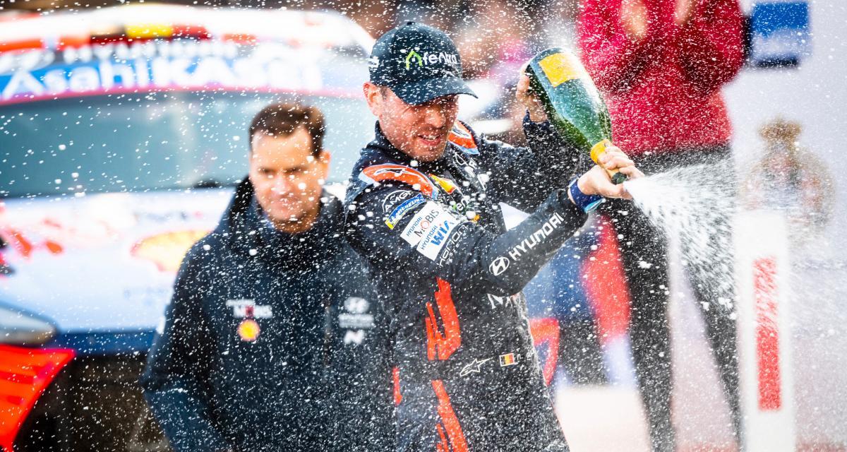 WRC : le classement du championnat après le Rallye de Monte-Carlo