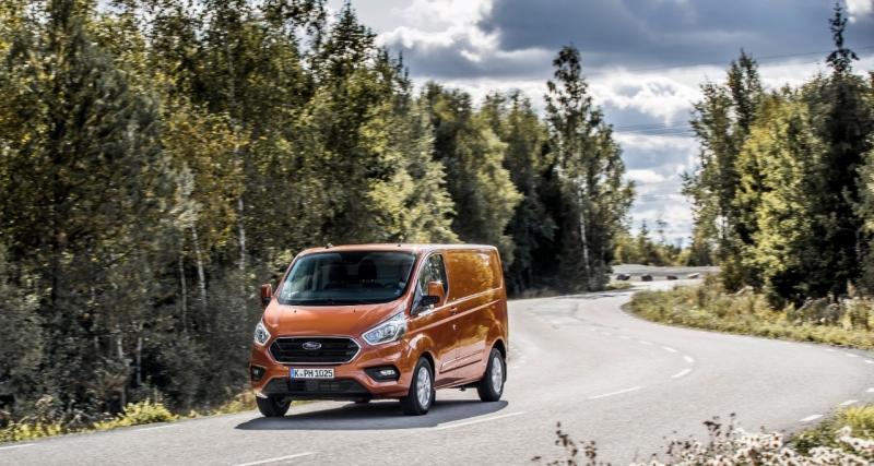 Un Ford Transit qui carbure à l'huile de friture