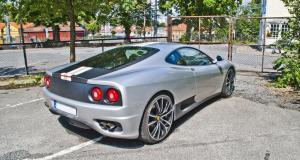 Flashé à 146 km/h en Corse au volant d'une Ferrari 360