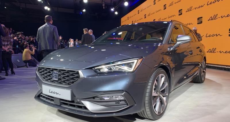 Nouvelle Seat Leon hybride rechargeable : cousine de la Golf, jusqu'au bout