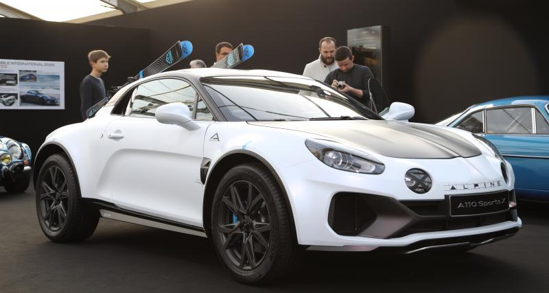 Alpine A110 SportsX : la surprise du chef au Festival Automobile !
