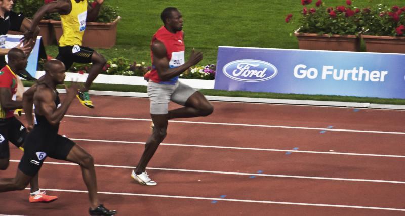 Inspiré d'Usain Bolt ?