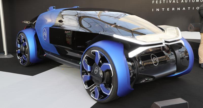Citroën 19_19 Concept : nos photos du concept du centenaire au Festival Automobile