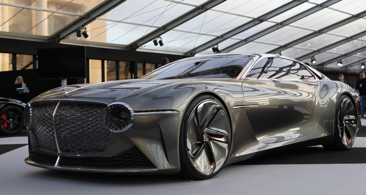 Bentley EXP 100 GT : nos photos du concept-car anglais au FAI