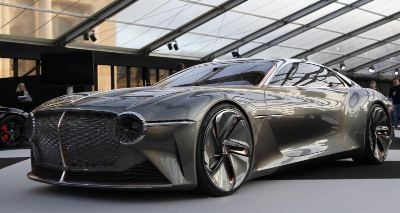 Bentley EXP 100 GT : nos photos du concept-car anglais au FAI