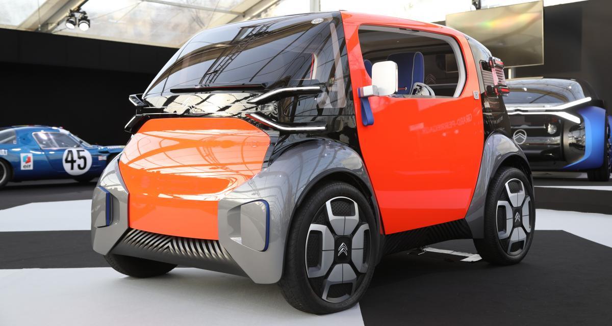 Citroën Ami One Concept : nos photos du quadricycle futuriste à Paris
