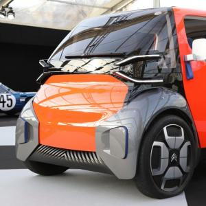 Citroën Ami One Concept : nos photos du quadricycle futuriste à Paris