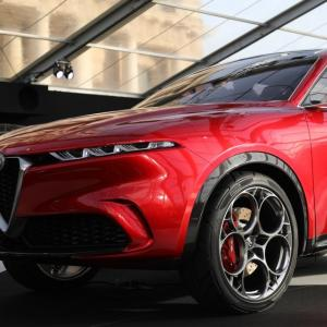 Alfa Romeo Tonale : nos photos du futur SUV compact à l'italienne au FAI