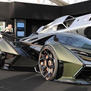 Lamborghini V12 Vision Gran Turismo : nos photos de l'exceptionnelle toile de maître