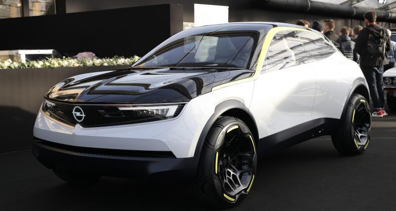 Opel GT X Experimental : un SUV profilé et 100% électrique au FAI 2020