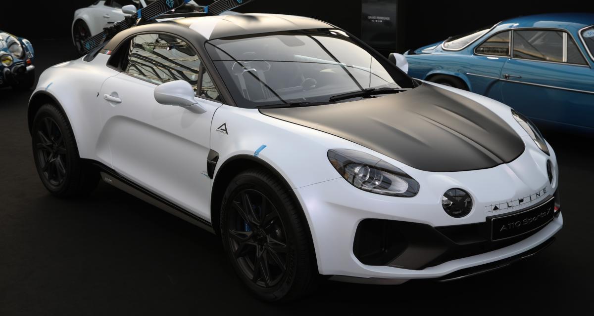 Alpine A110 SportsX : le coupé baroudeur en 3 points