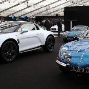 Exposition Alpine : les berlinettes à l'honneur au Festival Automobile 2020