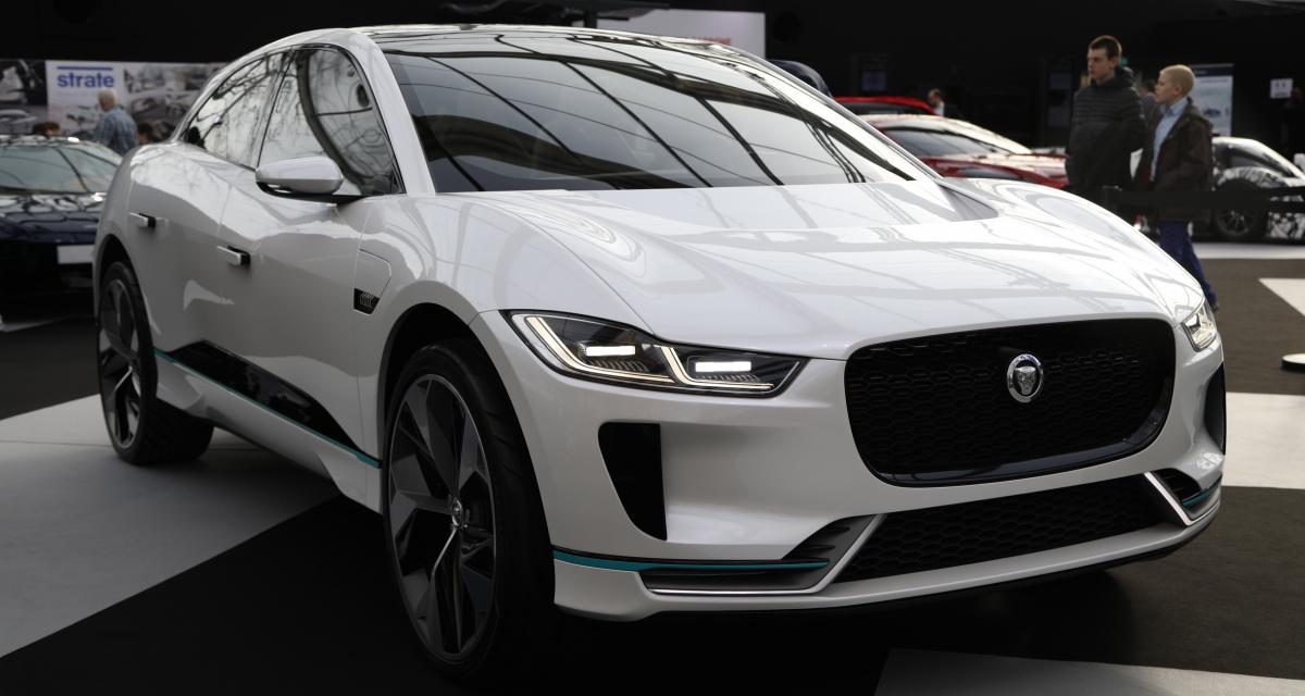 Jaguar I-Pace Concept : le SUV 100% électrique se montre à Paris