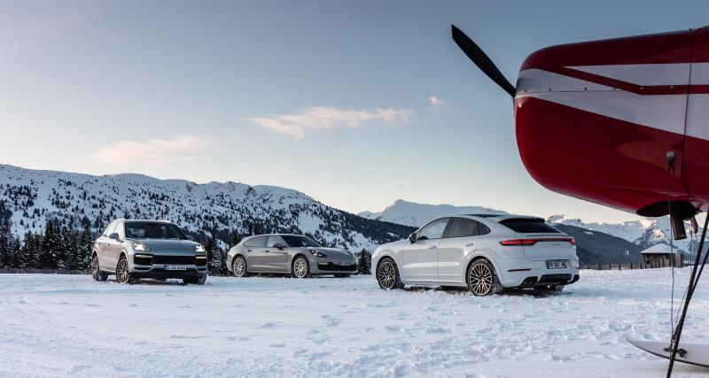 Porsche Winter Experience : les modèles hybrides aux sommets