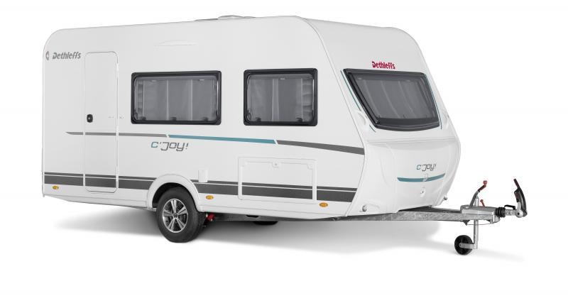 Dethleffs c'joy : une caravane compacte à petit prix