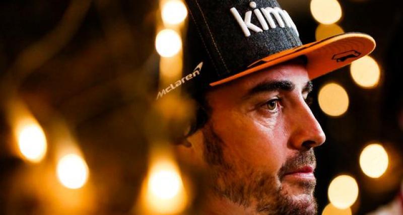 Alonso regrette son comportement à l'égard de Honda