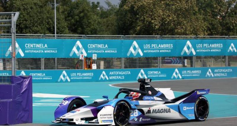 Le communiqué de la Formule E