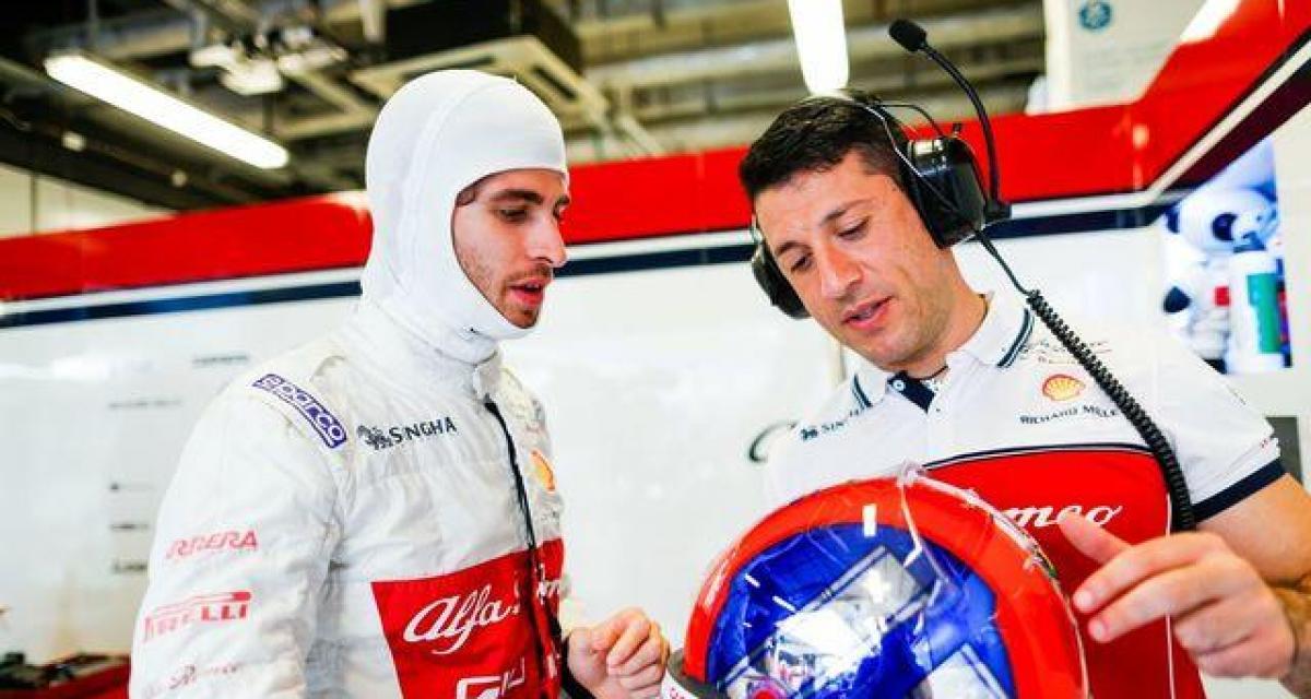 F1 : Giovinazzi se verrait bien chez Ferrari en 2021