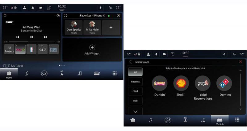 Fiat Chrysler adopte un nouveau système multimédia Uconnect avec la commande vocale Alexa
