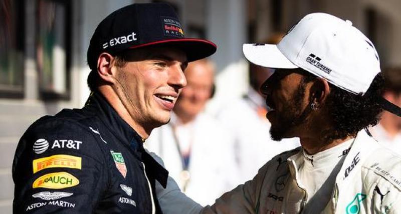 """Verstappen : """"Hamilton n'est pas Dieu"""""""