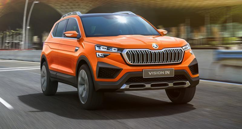 Skoda Vision In Concept : un nouveau SUV compact pour le marché indien