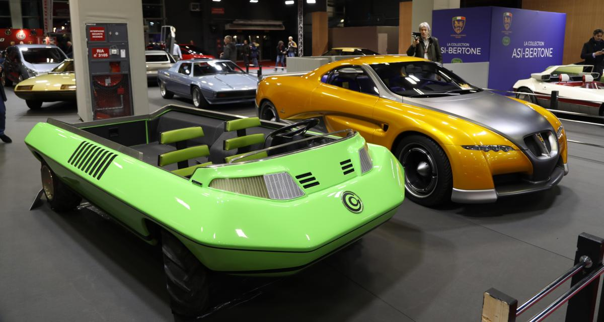 ASI Bertone : nos photos de la collection au salon Rétromobile 2020