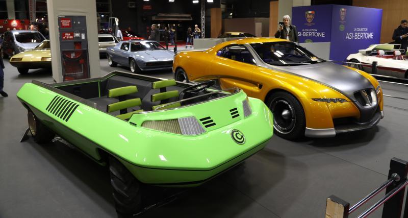 ASI Bertone : nos photos de la collection au salon Rétromobile 2020