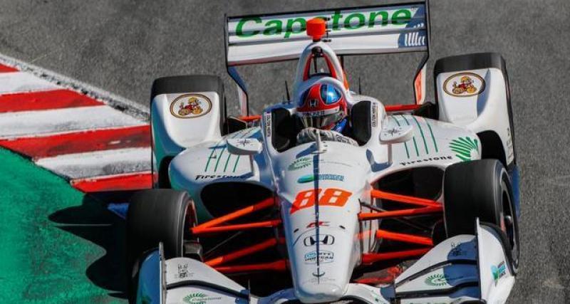 Le tweet d'AJ Foyt Racing