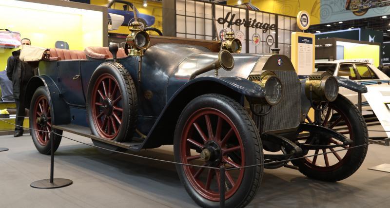 110 ans d'Alfa Romeo à Rétromobile : nos photos de la 24 HP et de la 6C 1500 Super Sport