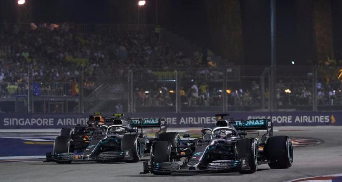 "Toto Wolff : ""Mercedes courra en F1 en 2021"""