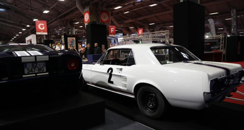 Vente Artcurial : nos photos des Ford Mustang GT 390 et Ford GT de Johnny Hallyday